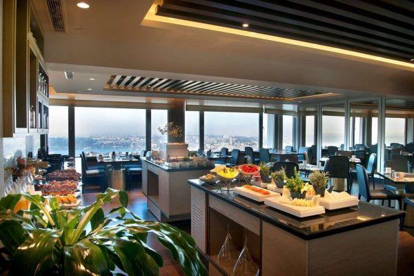 هتل د مارمارا تکسیم استانبول