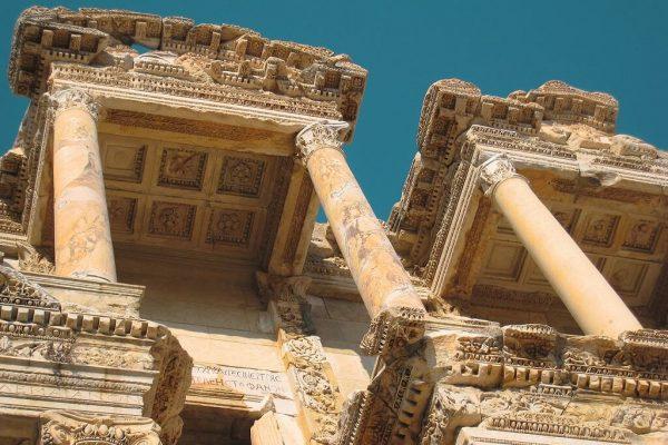 Library Of Celsus Ephesus Kusadasi
