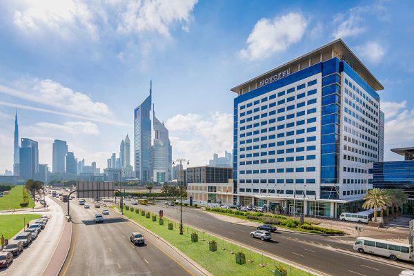 هتل نووتل ورد ترید سنتر دبی Novotel World Trade Centre Dubai