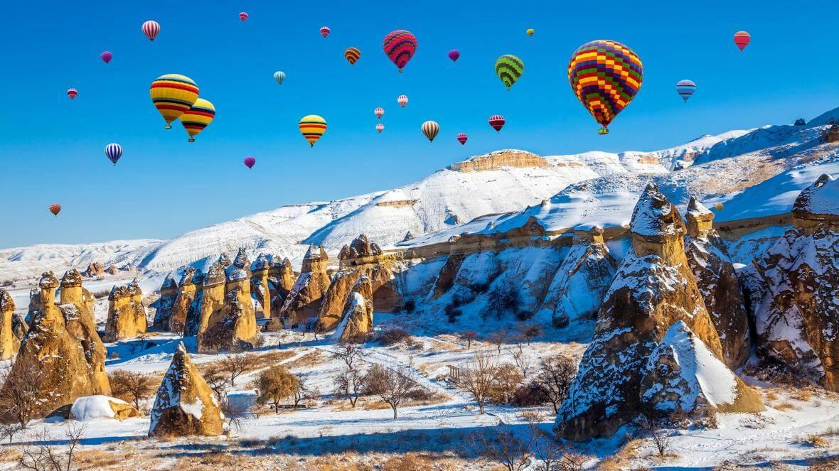 تورهای ترکیه زمستان 99
